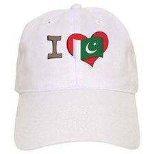 I heart Pakistan Baseball Cap