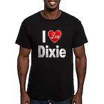 I Love Dixie Men's Fitted T-Shirt (dark)