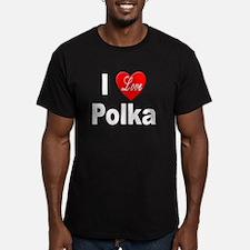 I Love Polka T