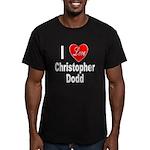 I Love Christopher Dodd Men's Fitted T-Shirt (dark