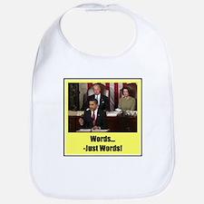"""Just Words"" Bib"