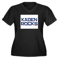 kaden rocks Women's Plus Size V-Neck Dark T-Shirt