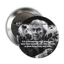 Bertrand Russell Philosophy Button