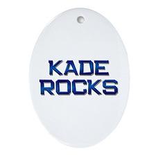 kade rocks Oval Ornament