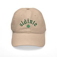 Slainte [shamrock] Baseball Cap