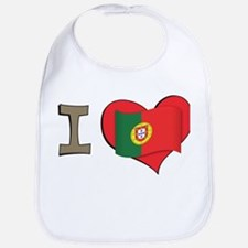 I heart Portugal Bib