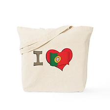 I heart Portugal Tote Bag