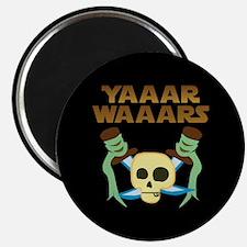 Yaaar Wars Pirate Magnet