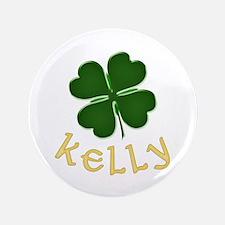 """Kelly Irish 3.5"""" Button"""