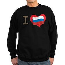 I heart Russia Sweatshirt