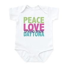 Peace Love Spring Break Daytona Infant Bodysuit