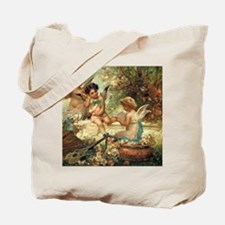 Victorian Angels by Zatzka Tote Bag