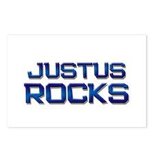 justus rocks Postcards (Package of 8)