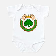 Claddagh with Shamrock Infant Bodysuit