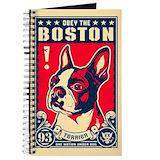 Boston journal Journals & Spiral Notebooks