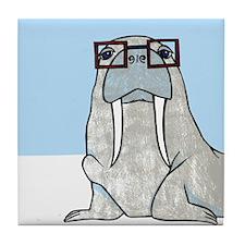 Smart Walrus Tile Coaster