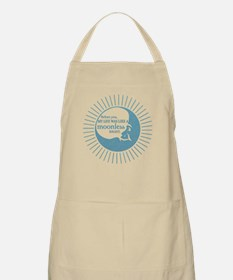 Before you - blue BBQ Apron