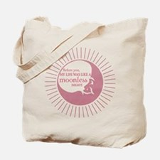 Before you - pink Tote Bag