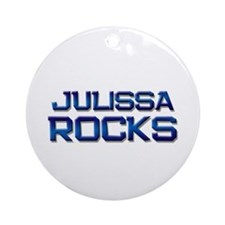 julissa rocks Ornament (Round)