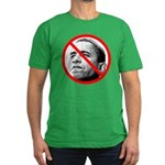Anti-Barack Obama Men's Fitted T-Shirt (dark)