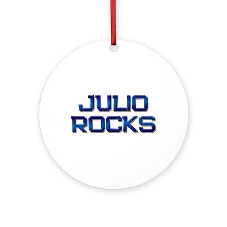 julio rocks Ornament (Round)