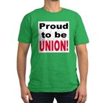 Proud Union Men's Fitted T-Shirt (dark)