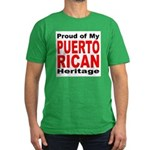 Proud Puerto Rican Heritage Men's Fitted T-Shirt (