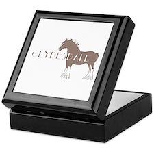 Clydesdale Horse Keepsake Box