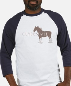 Clydesdale Horse Baseball Jersey