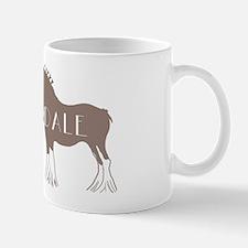 Clydesdale Horse Mug
