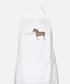 Clydesdale Horse BBQ Apron