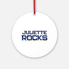 juliette rocks Ornament (Round)