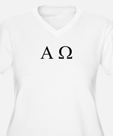 """Alpha & Omega"" Women's Plus Size T"