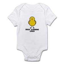 Rock Climbing Chick Infant Bodysuit