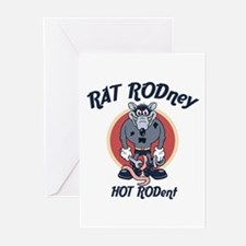 RAT RODney Greeting Cards (Pk of 10)