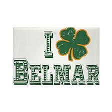 I love Belmar - St. Patrick's Rectangle Magnet