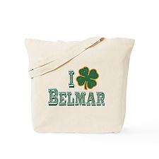 I love Belmar - St. Patrick's Tote Bag