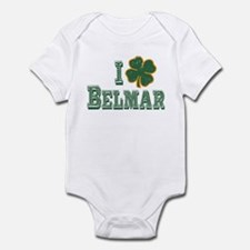 I love Belmar - St. Patrick's Infant Bodysuit