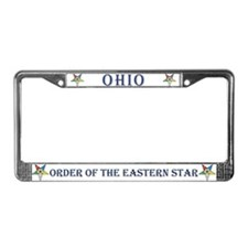 Ohio OES License Plate Frame