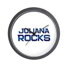 juliana rocks Wall Clock