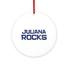 juliana rocks Ornament (Round)