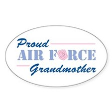 Proud Grandmother Oval Decal