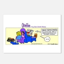 Cute Expectant father Postcards (Package of 8)
