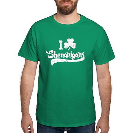 I Shamrock Shenanigans Dark T-Shirt