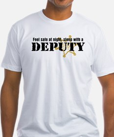 Feel Safe at Night Sleep with a Deputy Shirt