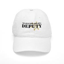 Feel Safe at Night Sleep with a Deputy Baseball Cap