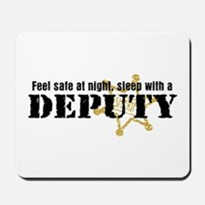 Feel Safe at Night Sleep with a Deputy Mousepad