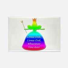 "GLBT ""Come Out"" - Rectangle Magnet (10 pack)"
