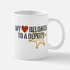 My Heart Belongs to a Deputy Mug