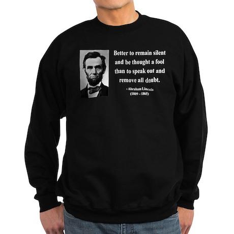Abraham Lincoln 26 Sweatshirt (dark)